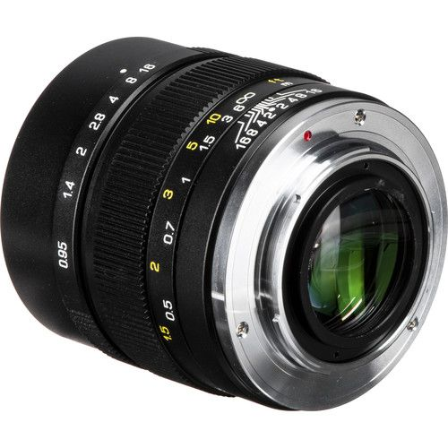 Mitakon Speedmaster 35mm F0.95 II E-mount lens info