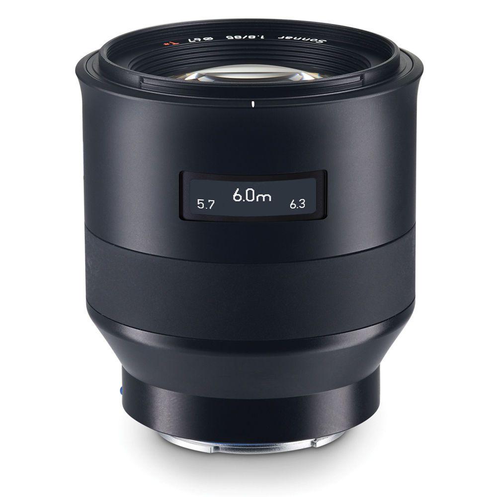 Zeiss 85mm F1.8 Batis E-mount lens info