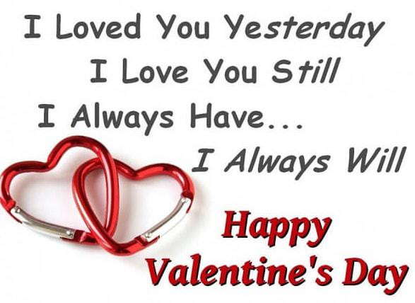 Valentine's Day 60 Love Quotes For Him And Her DZ Breaking Interesting Love Quotes For Valentines Day For Her