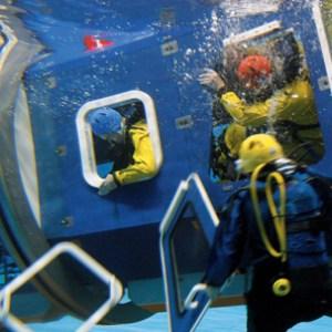 offshore, HUET, træning, Falck Safety Services, danmark