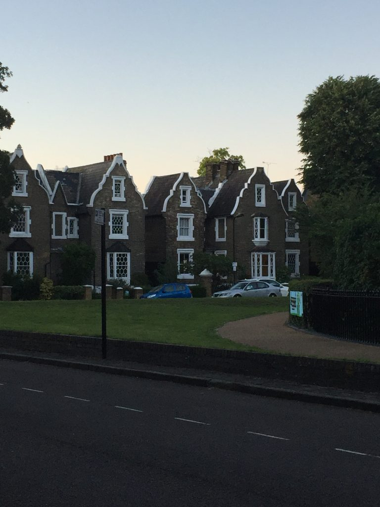 Londyn, domy, typowa zabudowa