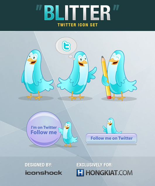 Blitter-Twitter-Icon-Set