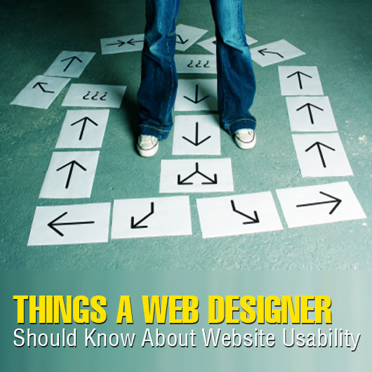 Things a Web Designer Should Know About Website Usability