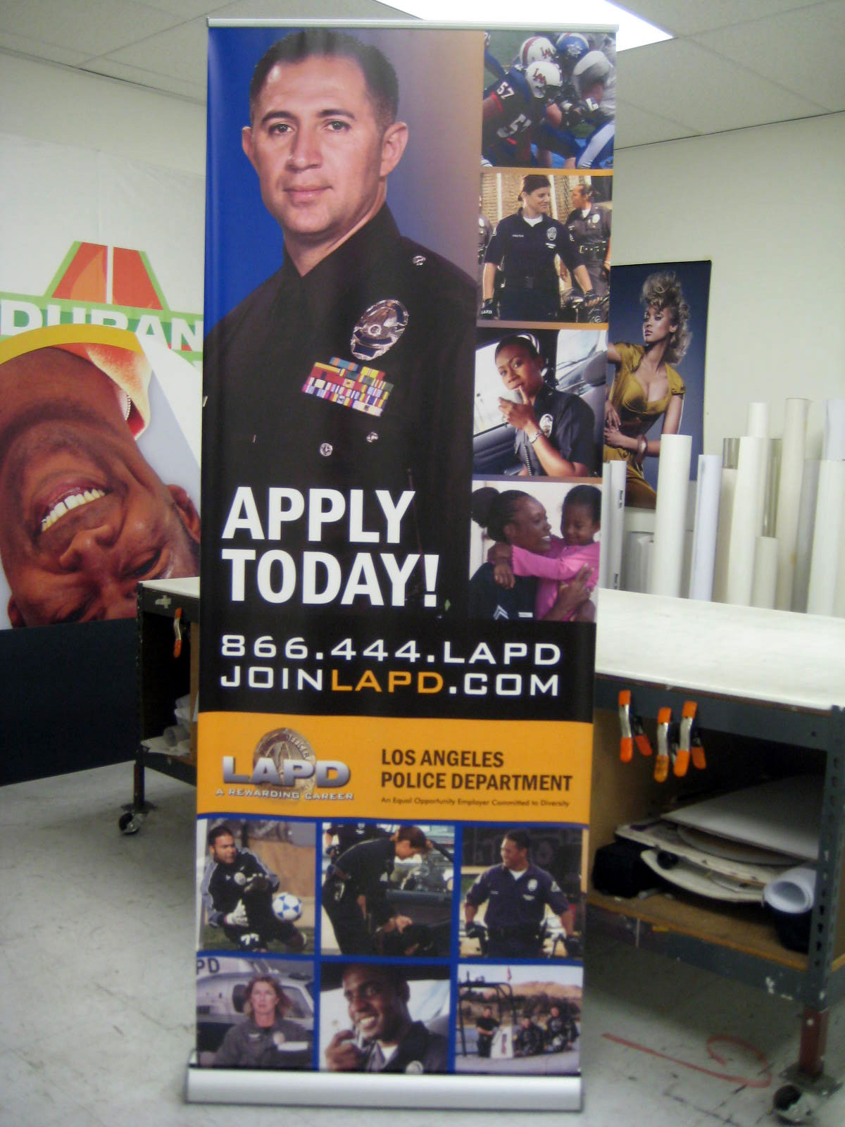 Dziner Sign Co  Retractable Banners