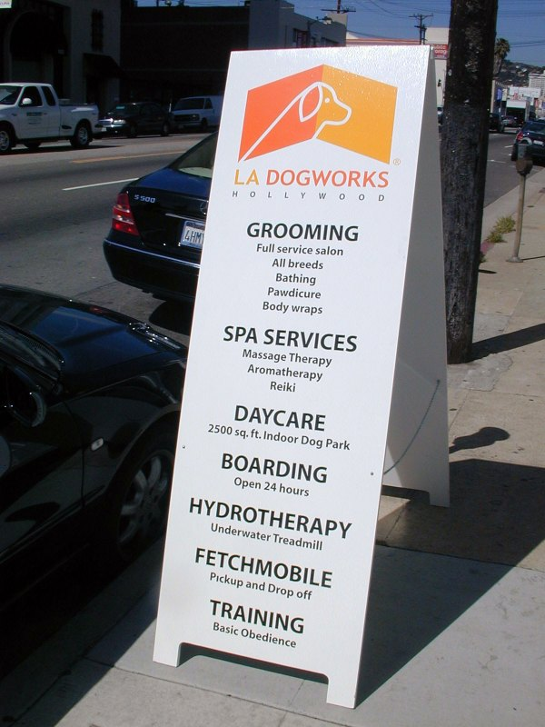'ziner Sign . Sidewalk Frame Signs