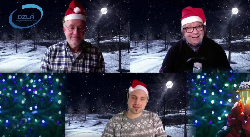 DZLA Weihnachtspost