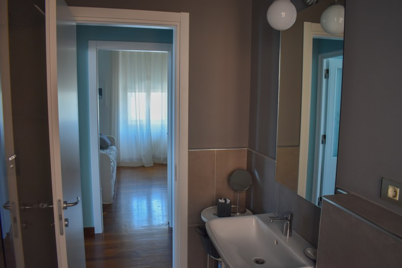 Bathroom in Mare suite