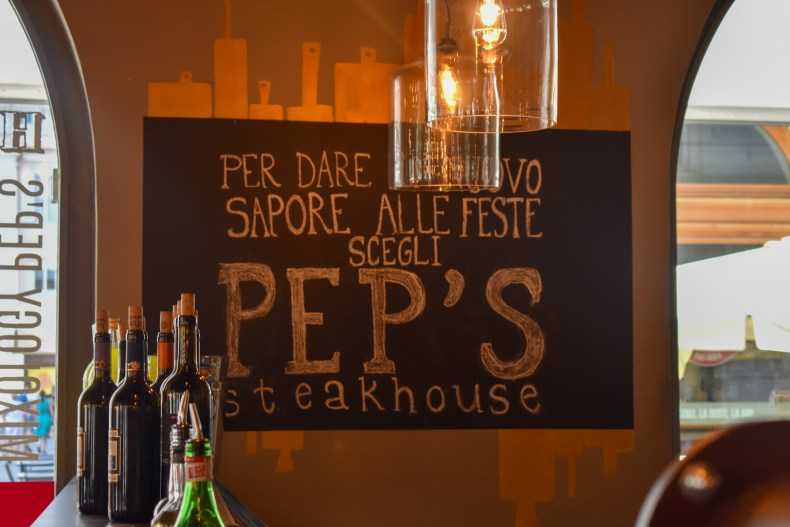 Pep's steakhouse