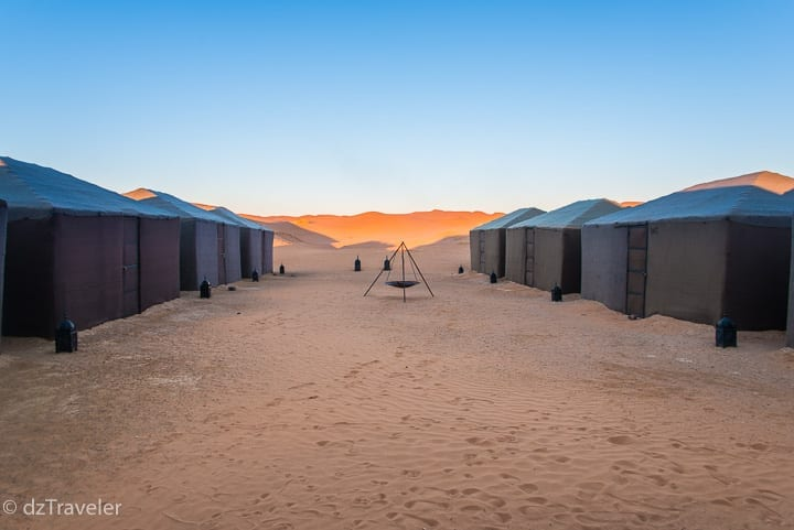 Sahara Desert Luxury Camp, Merzouga village