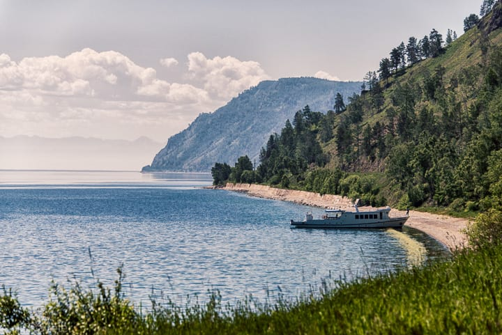 Hiking along the Picturesque Circum-Baikal railway Track
