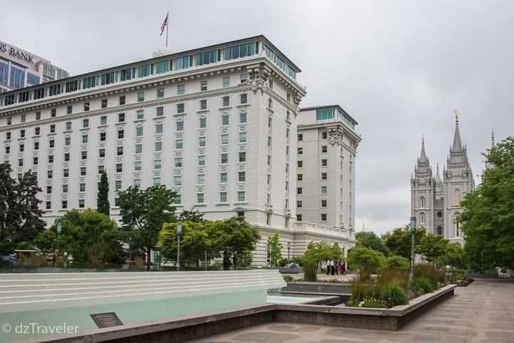 Joseph Smith Memorial Building, Temple Square, Salt Lake City, UT
