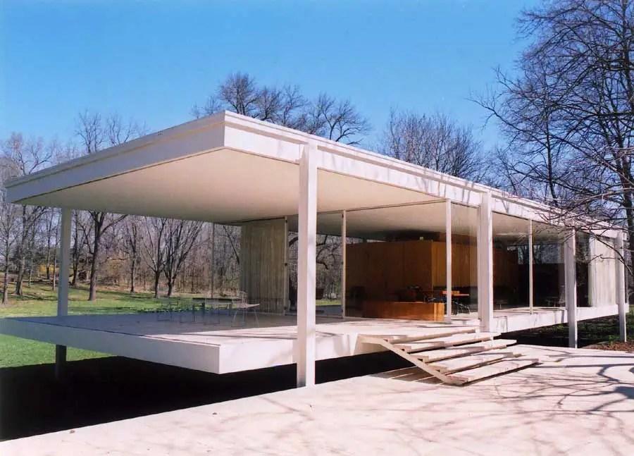 La Casa Farnsworth (Illinois, EUA)
