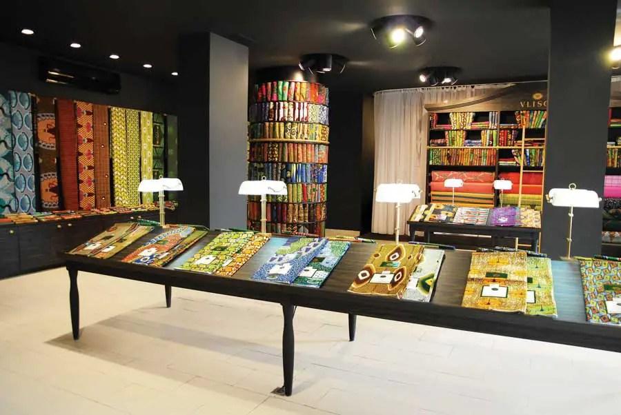 Vlisco Boutique Benin Store African Shop E Architect