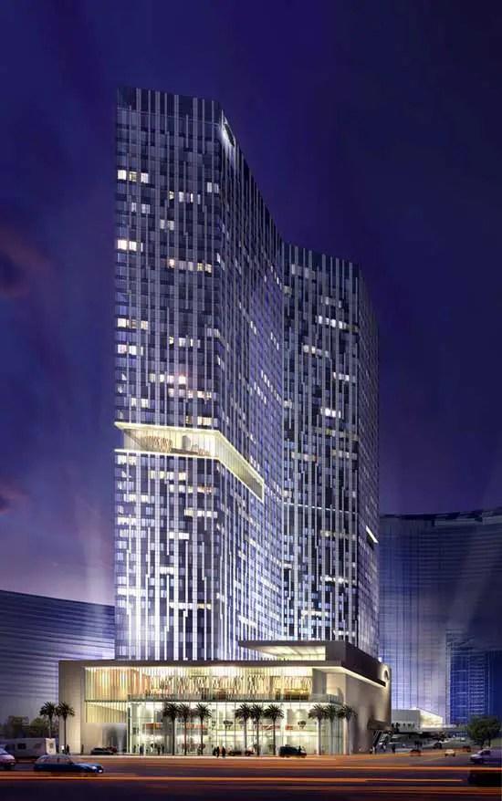 Mandarin Oriental Hotel Las Vegas CityCenter Hotel  earchitect