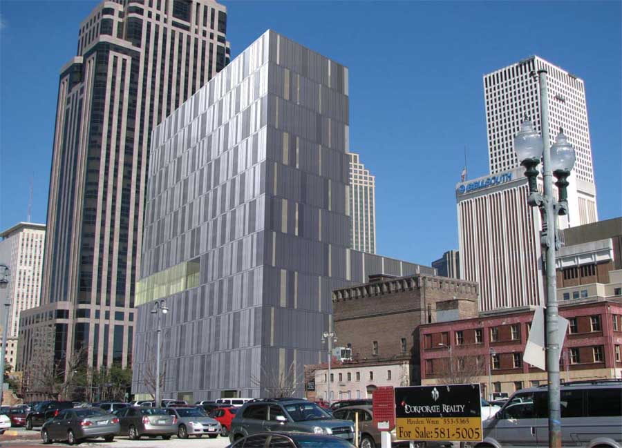Poydras Residential Tower Building in New Orleans  earchitect