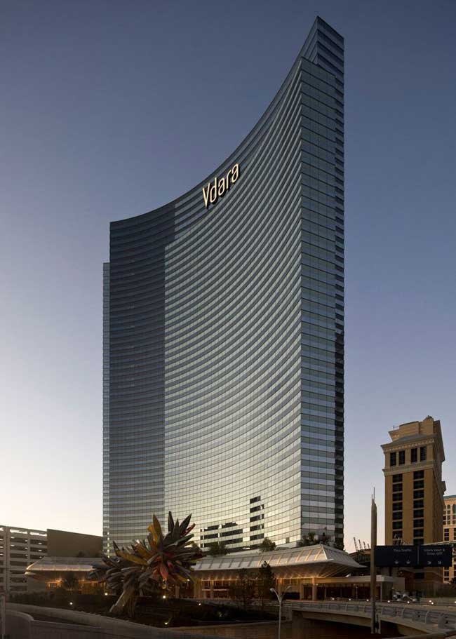 Vdara CityCenter Las Vegas Hotel Nevada USA  earchitect