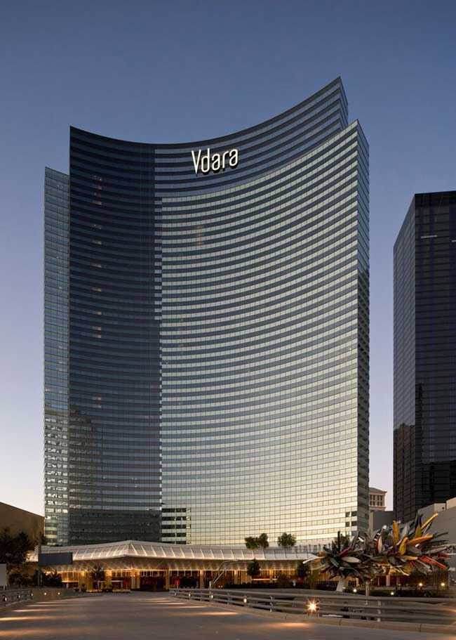 hotel with kitchen commercial cleaning services vdara citycenter: las vegas hotel, nevada, usa - e-architect
