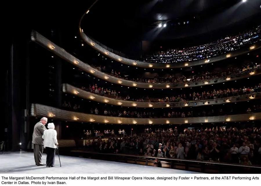 Winspear Opera House  Arts Building Dallas  earchitect