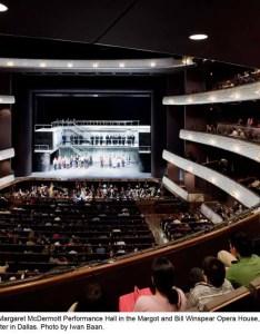 Winspear opera house also arts building dallas  architect rh