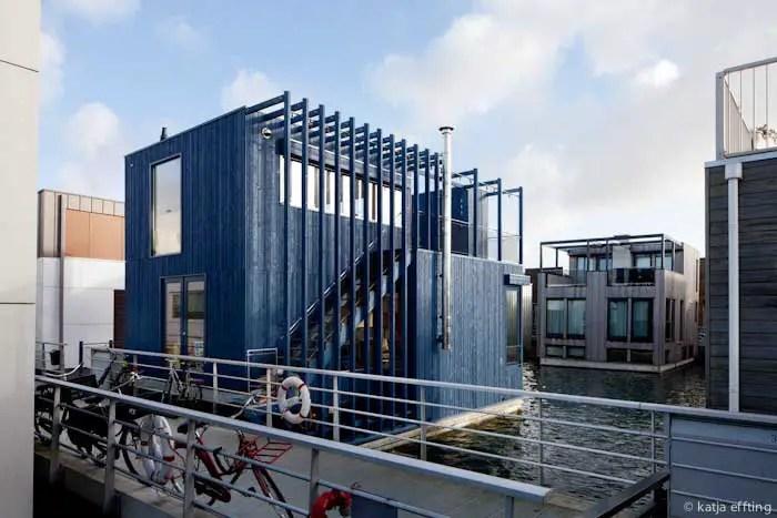 Floating House IJburg  Amsterdam Property  earchitect