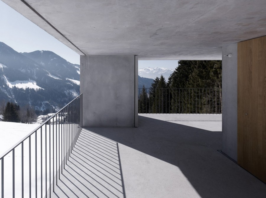 Laternser Valley Mountain Cabin Austria  earchitect