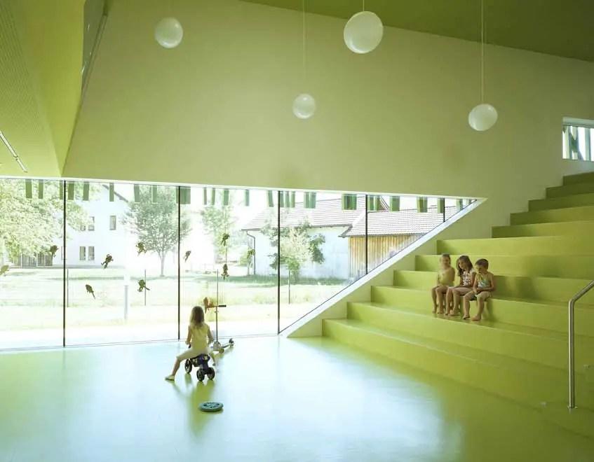 Kindergarten Sighartstein Austria Land Salzburg Building  earchitect