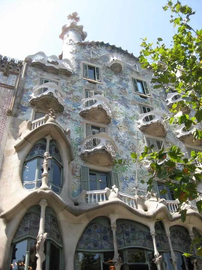 Casa Batlo  Gaudi Building Barcelona  earchitect