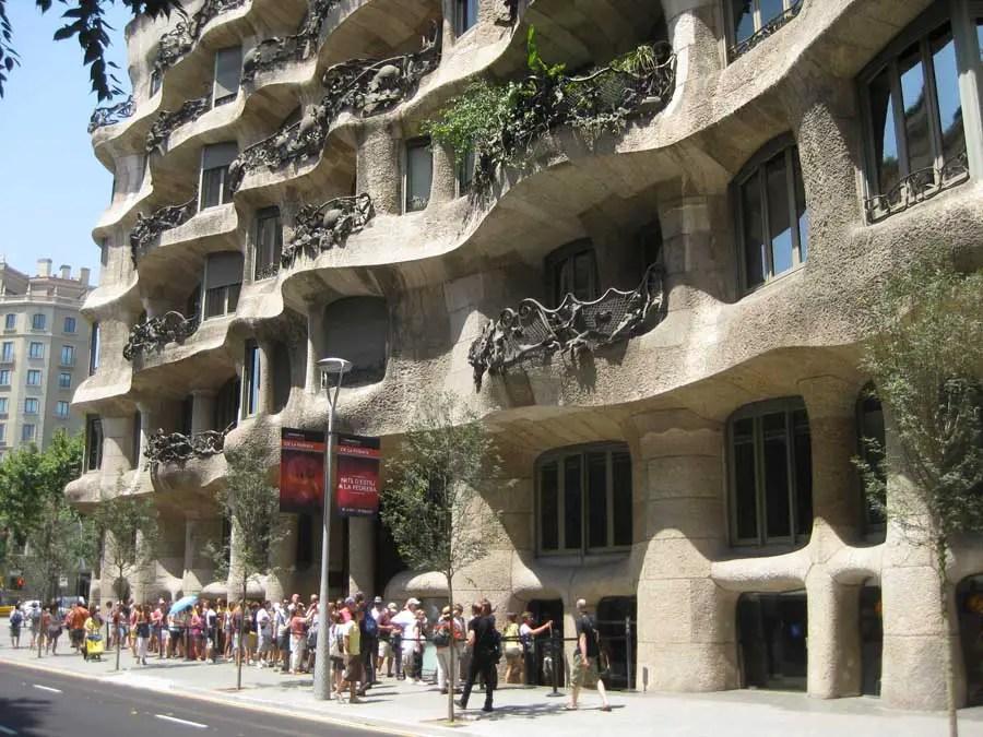 Casa Mila  La Pedrera Barcelona  earchitect