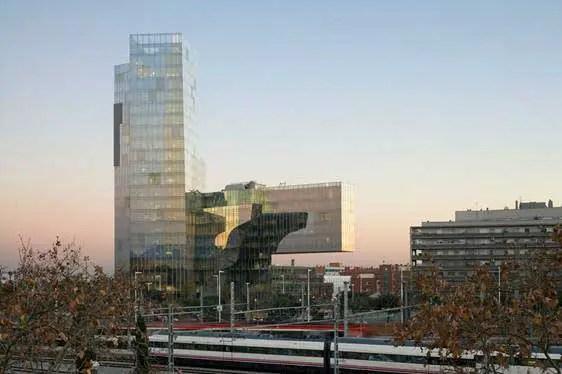 Torre de Gas Natural Barcelona  Enric Miralles  earchitect