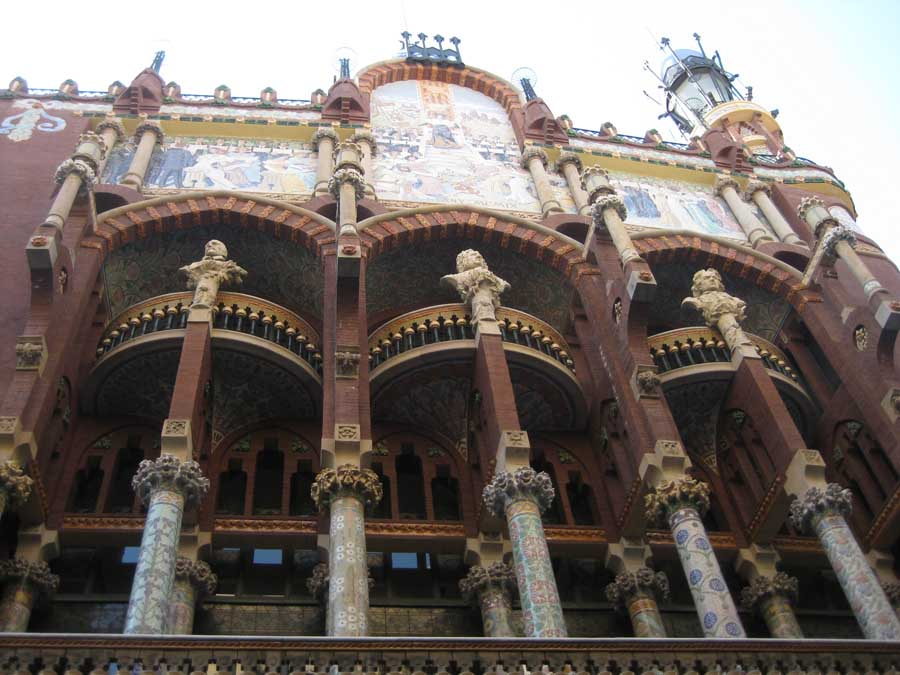 Catalan Music Palace Palau de la Musica Barcelona  earchitect