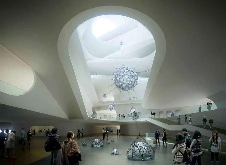NAMOC Beijing National Art Museum of China  earchitect