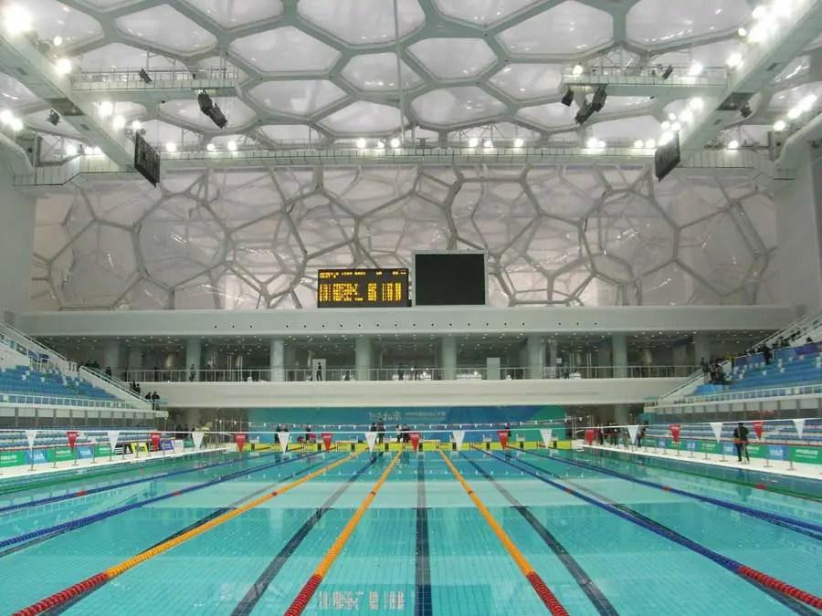 Watercube Beijing National Swimming Centre China  earchitect