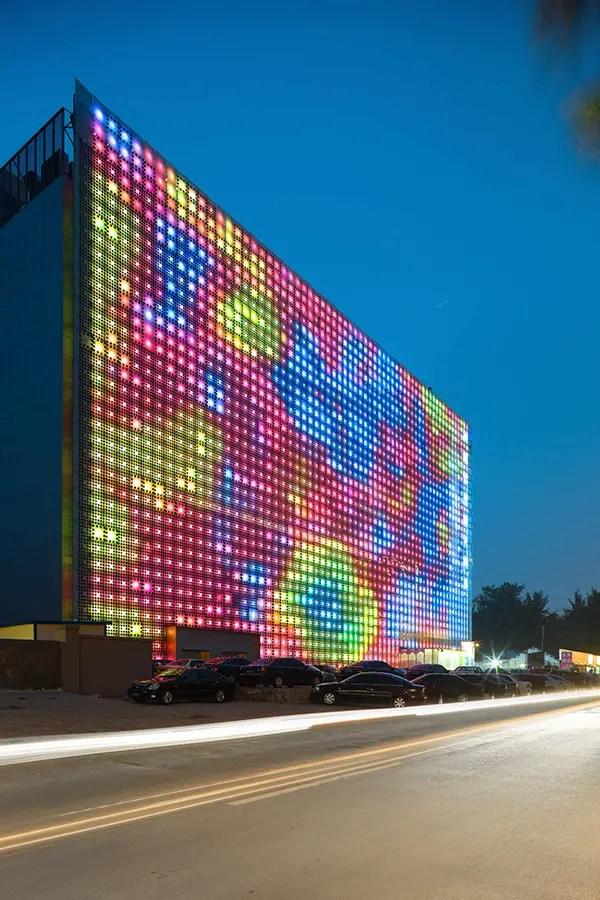 Xicui Entertainment Complex Beijing  GreenPix  earchitect