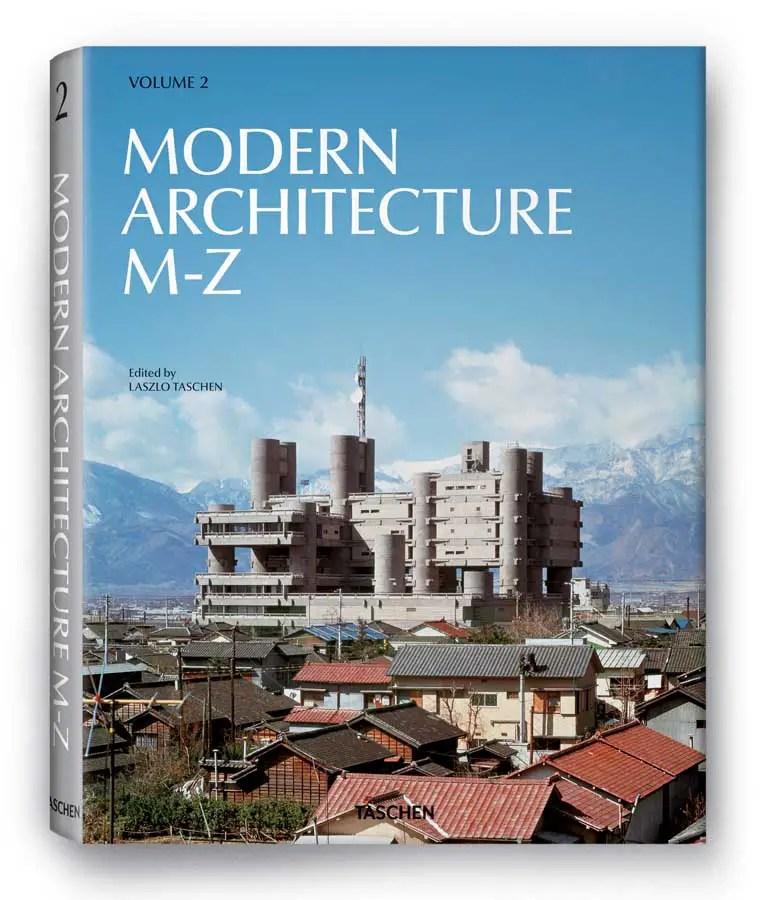 Modern Architecture A Z Book Publication By Taschen E