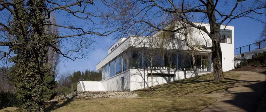 Tugendhat Villa Brno  Mies van der Rohe  earchitect