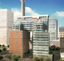 Tel Le Germain Calgary Canada Hotel Building - -architect