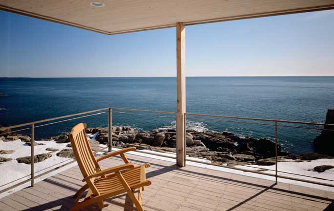Koehler House New Brunswick Residence Bay of Fundy Home  earchitect