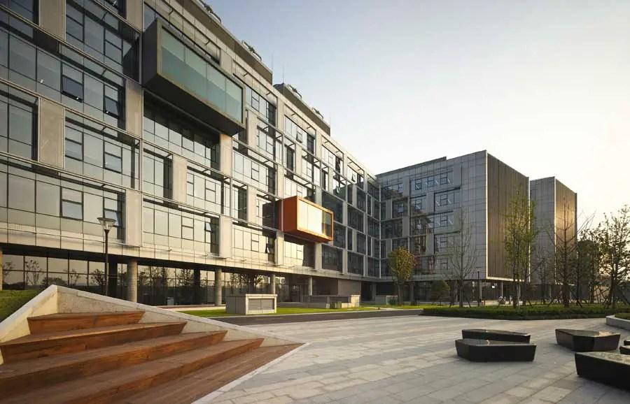 Alibaba Headquarters Hangzhou Building China  earchitect
