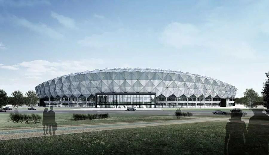 Jining Stadium Building China Chinese Sports Arena  e