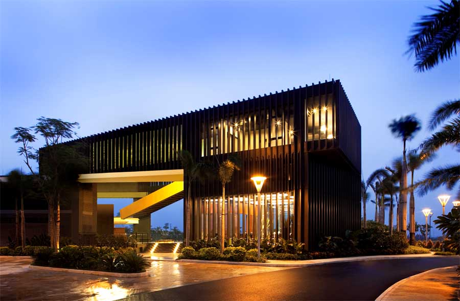 Water Edge Housing Zhuhai Houses Chinese Waterside Homes  earchitect