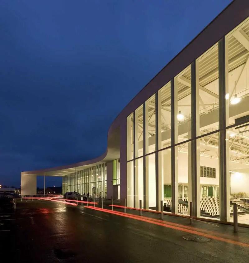 Sports Centre Buildings  Sport Halls Designs  earchitect