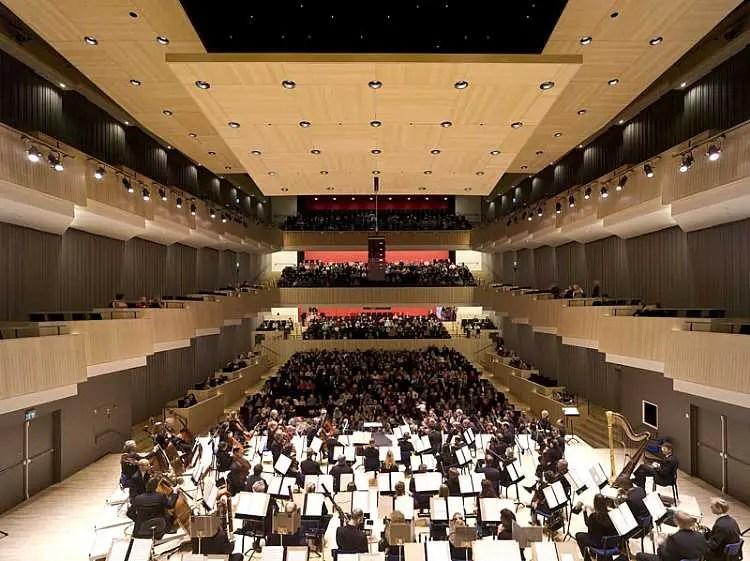 Aarhus Concert Hall Denmark Concert Hall Aarhus Photos  earchitect