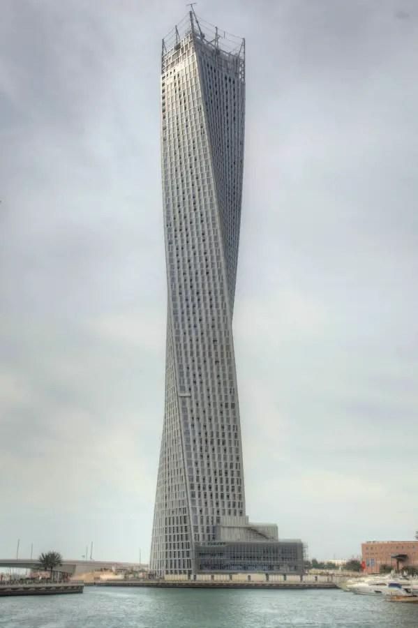 Cayan Tower  Twisting Dubai Skyscraper  earchitect