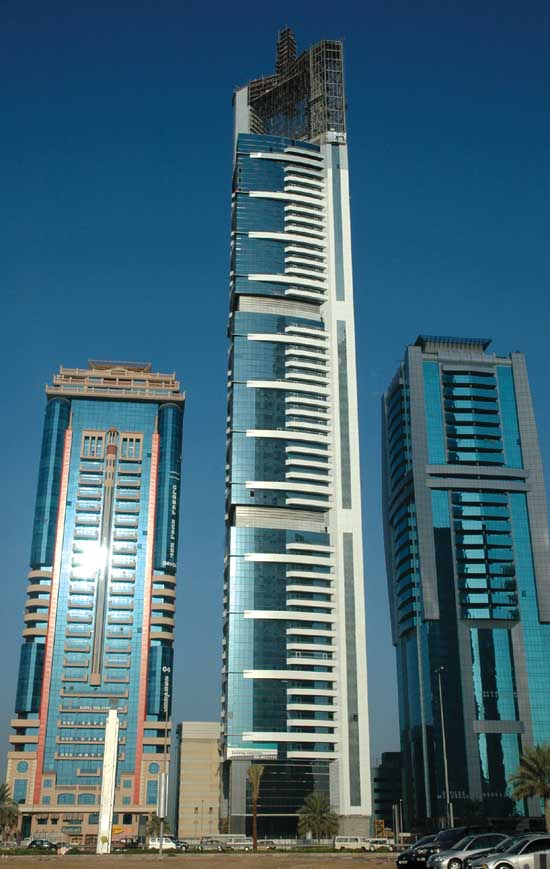 Chelsea Tower Dubai Sheikh Zayed Road UAE  earchitect