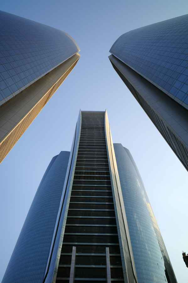 Etihad Towers  Abu Dhabi Skyscrapers  earchitect