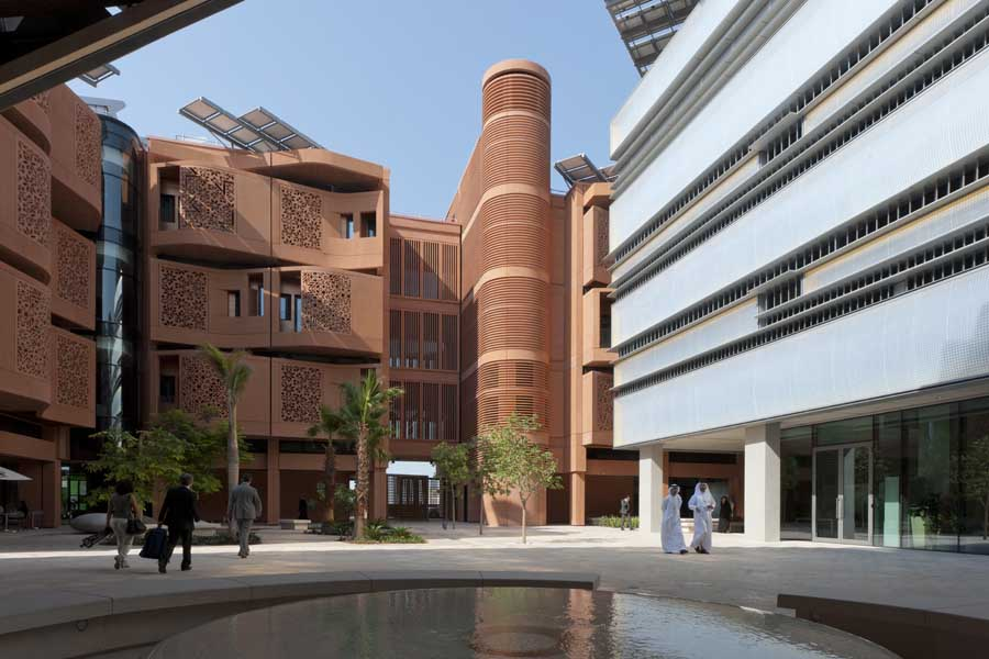 Masdar Institute Campus Gates Abu Dhabi Building E