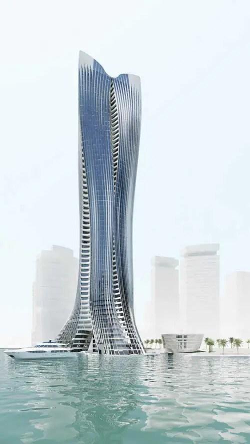 Michael Schumacher Tower Abu Dhabi Building  earchitect