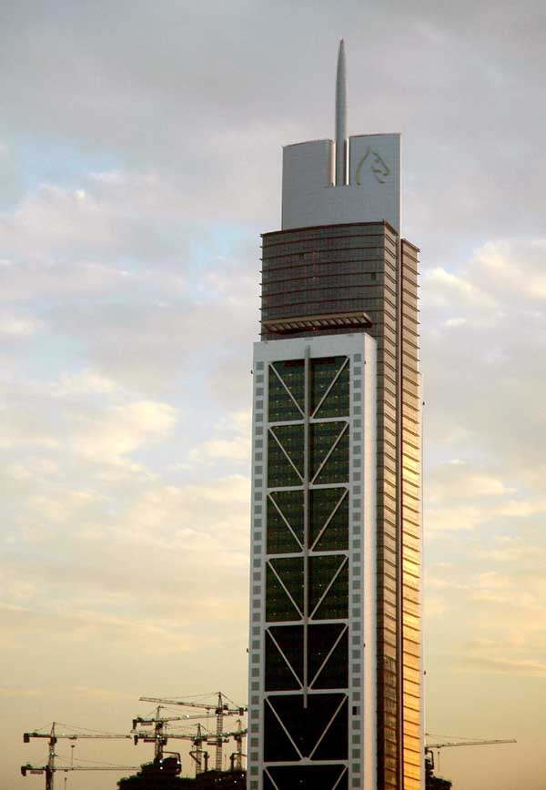 Millennium Tower Dubai UAE  earchitect