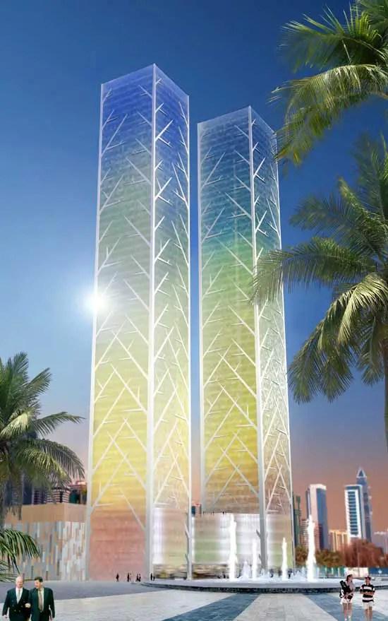 Tiara United Towers Dubai UAE  earchitect