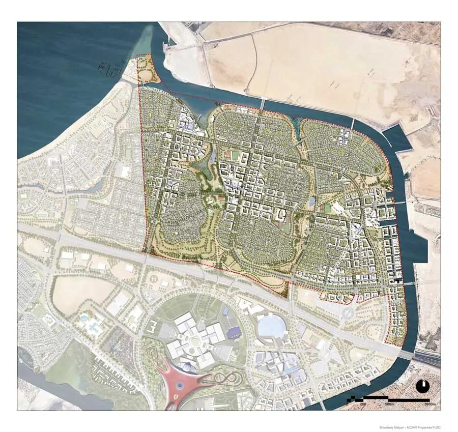 Yas Island Masterplan Abu Dhabi Waterfront E Architect